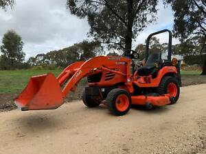 Kubota BX2350 Tractor & Implements West Bendigo Bendigo City Preview