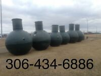 Septic Tanks Near Moosomin For Sale or Installed.