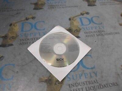 Sick 2029112ae S228 Bar Code Scanner V4.6 Clv Setup Configuration Software Cd