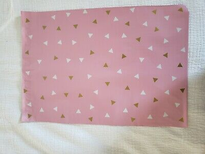 Designer Poly Mailer Confetti Pink Gold Shipping Pack It Chic 12