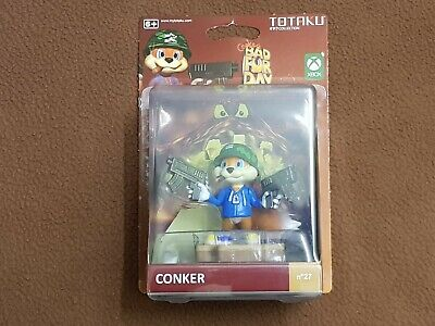 Totaku Collection No 27 Exclusive Conker/'s Bad Fur Day Conker Action Figure NEW