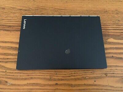 """Used Lenovo 10.1"""" Yoga Book 64GB Windows 10 2-in-1 Tablet Z8550 Black YB1-X91F"""