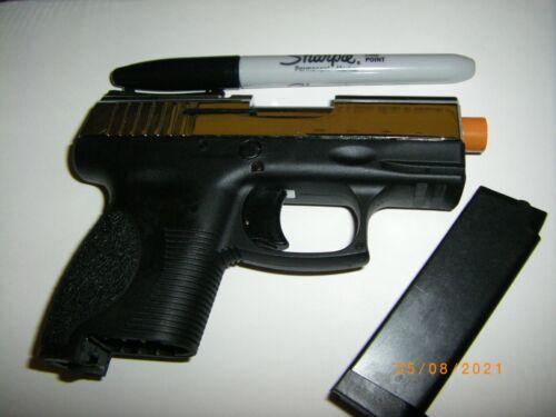 MOVIE PROP FILM GUN SUB SUB COMPACT REPLICA GUN TRAINING GUN 9 MM FFG P114