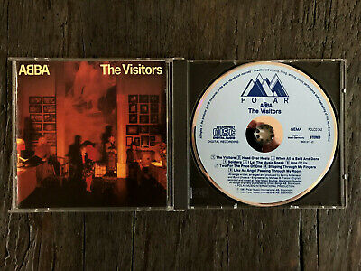 ABBA~ The Visitors~RARE West Germany Blue Polar POLCD/1983/No Barcode/Smooth Box