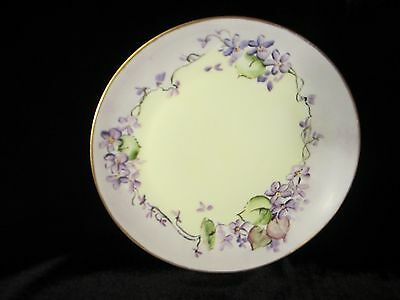 Hand Painted Favorite UNO Bavaria 8 Inch Plate
