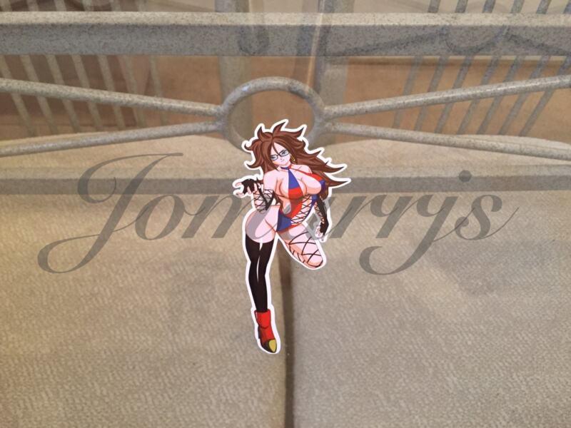 "Dragon Ball Z Anime Kale Bikini ""Topless"" Sun Fun Sticker Decal Vinyl NSFW DBZ"