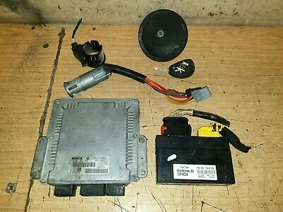 SCUDO EXPERT DISPATCH 2 LITRE ECU KIT BSI IGNITION KEY 0281011343 9639819680