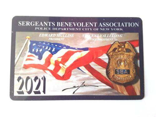 """1 NEW AUTHENTIC COLLECTIBLE  2021  SBA  CARD """" NOT  CEA  LBA DEA PBA CARD"""