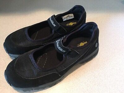 NAUTILUS Women's  Mary Jane Safety Footwear #1687 Work Shoe Steel Toe  Size 9.5