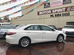 From only $105 p/week on finance* 2015 Toyota Camry Atara HYBRID