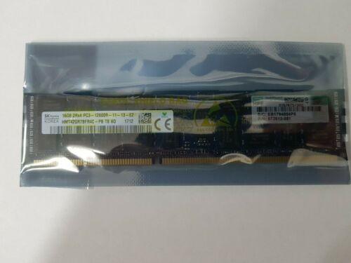 HP 16GB (1x16GB) PC3-12800 (DDR3-1600) Server Memory 672631-B21 672612-081