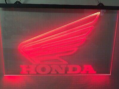 Honda Motorcycle Led Neon Light Sign Garage Game Room Man Cave LARGE 16x12