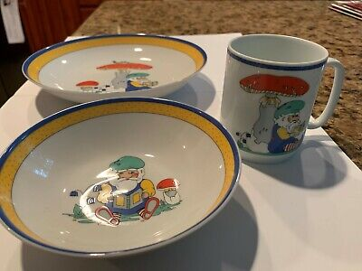 New KAISER Dekor1049 3-Piece Child's Porcelain Dinnerware Set