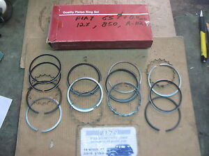 FIAT 850 Coupe Spider Sport F 127 ,A112 STD PISTON RING SET 65mm 1.75 x 2 x 4mm