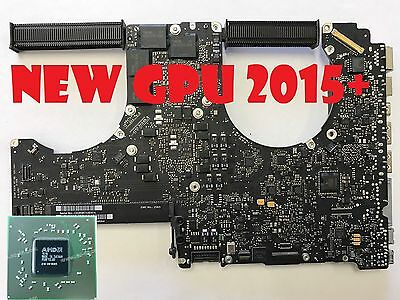 "Apple Macbook Pro 17"" A1297 i7 2.2GHz Logic Board 820-2914-A 2011 ~NEW 2016 GPU~"