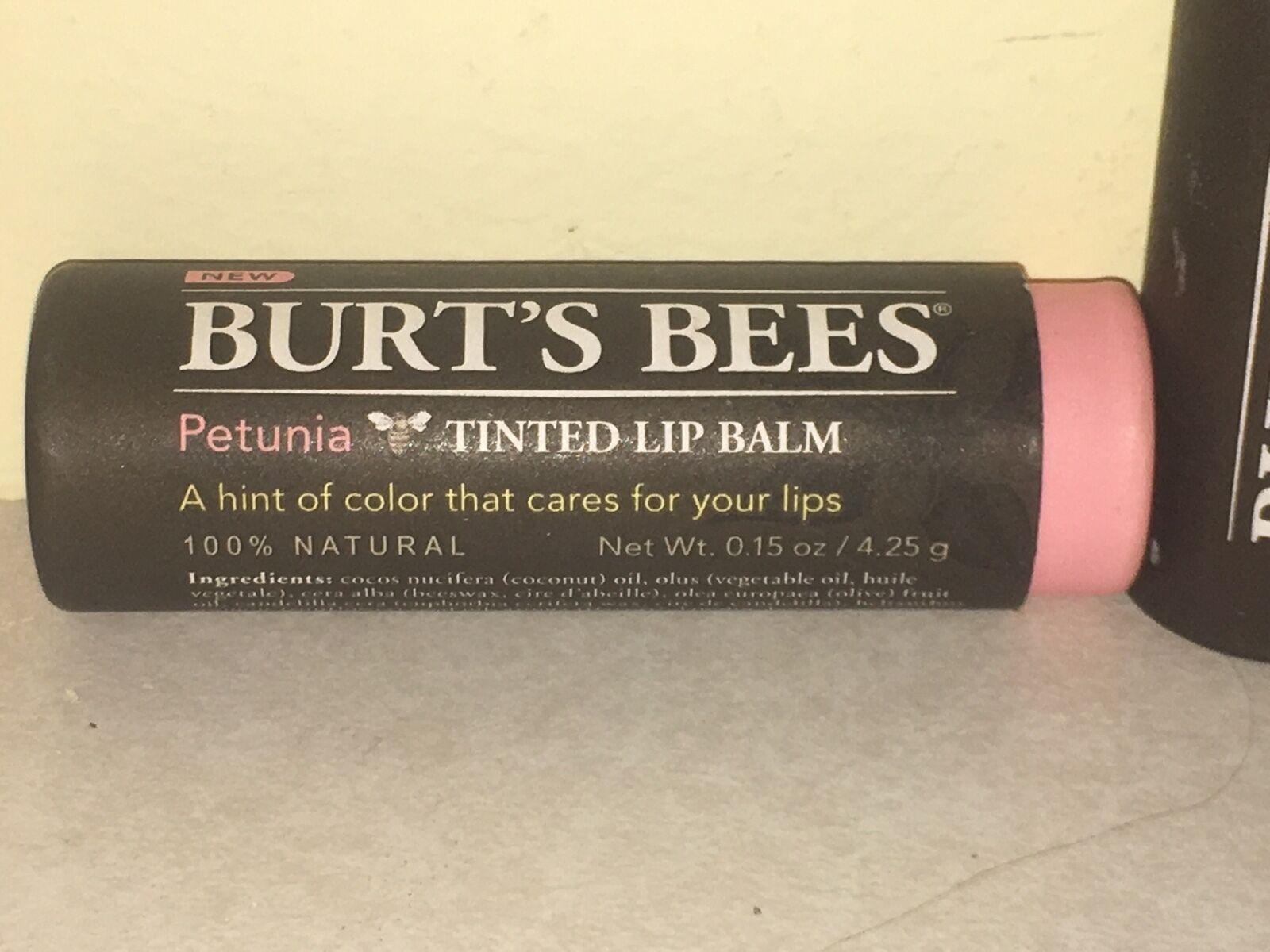 Lip Balm Petunia Burt's Bees 0.15 oz Lip Balm