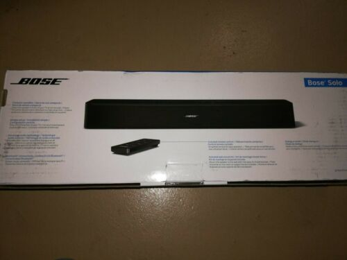Brand New Bose Solo Bluetooth TV Speaker System Soundbar 776850-1170