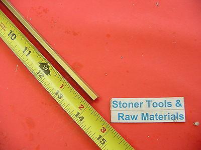 516 C360 Brass Hex Bar 14 Long New Lathe Bar Stock .312 Flat To Flat H02