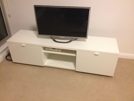 IKEA TV shelf and draws St Leonards Willoughby Area Preview