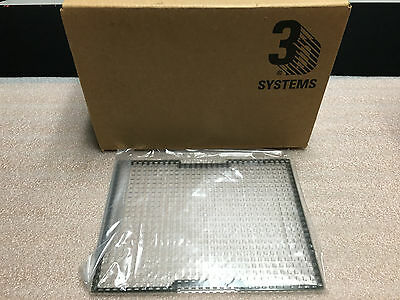 3D Systems V Flash Build Pads   New Case Of 20 Sealed Build Pads  One Box