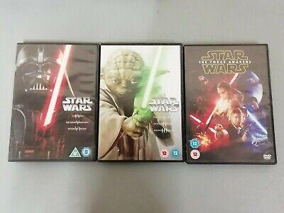 Star Wars: The Prequel + Original Trilogy (Episodes I-VI) + Force Awakens 7 Film