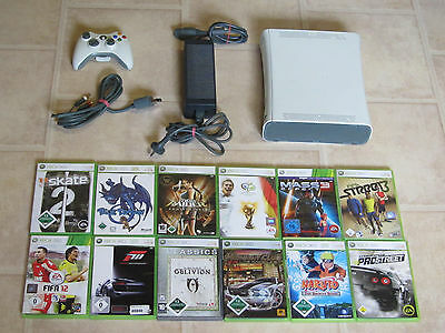 Xbox 360 Konsole komplett inkl. 3 Gratis Spiele + Controller