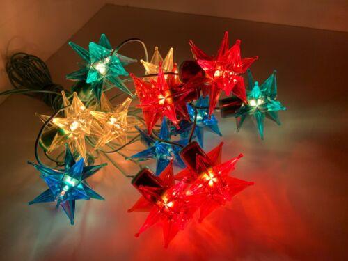 Garland Star Lights Flashlight Christmas Tree New Year Ussr Soviet Vintage