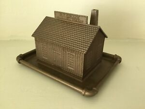 Antique miniature maison métal R.T. CRANE BRASS BELL FOUNDRY