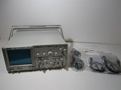 Tenma 72-6800 Dual Channel Dual Trace 20mhz Oscilloscope W Two 101 Probes