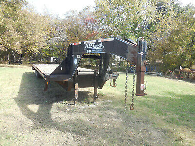 32 Foot Diamond Trailer With Dovetail Tandem Super Heavy Duty