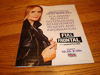 Full Frontal With Samantha Bee Emmy Ad Outstanding Achievement In News   Info