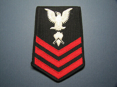 U.S. NAVY 1ST CLASS BUILDER ALL EMBROIDERED - $6.00