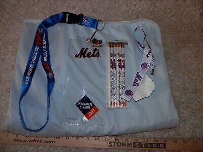 New York Mets Pencil - New York Mets Lanyards lot, 2 lanyards lot & 6 pencils, free shipping New & Vtg