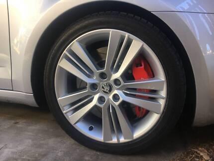 "Skoda Pictoris 18"" Alloy Wheels + Tyres"