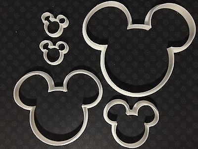 Mickey Mouse - Cookie Cutter - Fondant compatible - 3D Printed Plastic](Mickey Mouse Cookie)