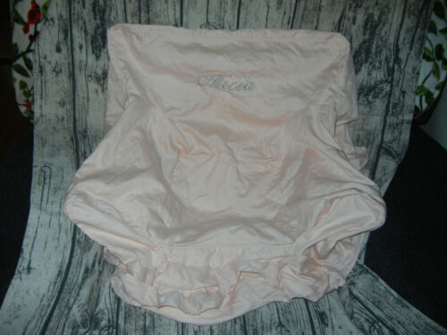 NEW Pottery Barn Kids Anywhere Chair COVER ONLY Pink Ruffle ** Alicia **