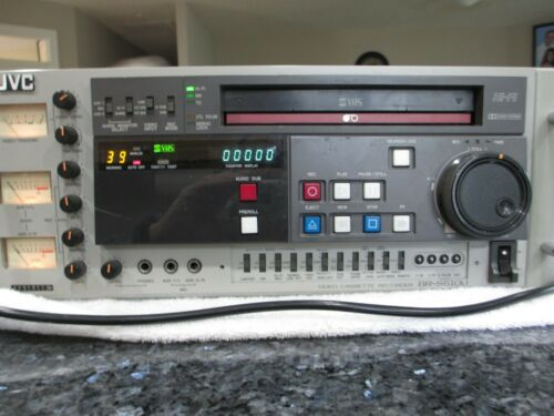 JVC BR-S610U SVHS vcr player recorder