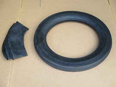4.0-19 Tri Tread Front Tire Innertube Tractor Fiat 4.0x19 400x19 400-19 3 Rib