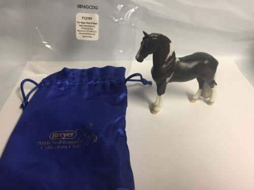 2016 Stablemate Collector Cub model Django #712191 Bay Pinto Breyer Stablemate
