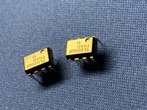 TL026CP TI Video Amp 8-PIN DIP BLACK NEW LAST ONES