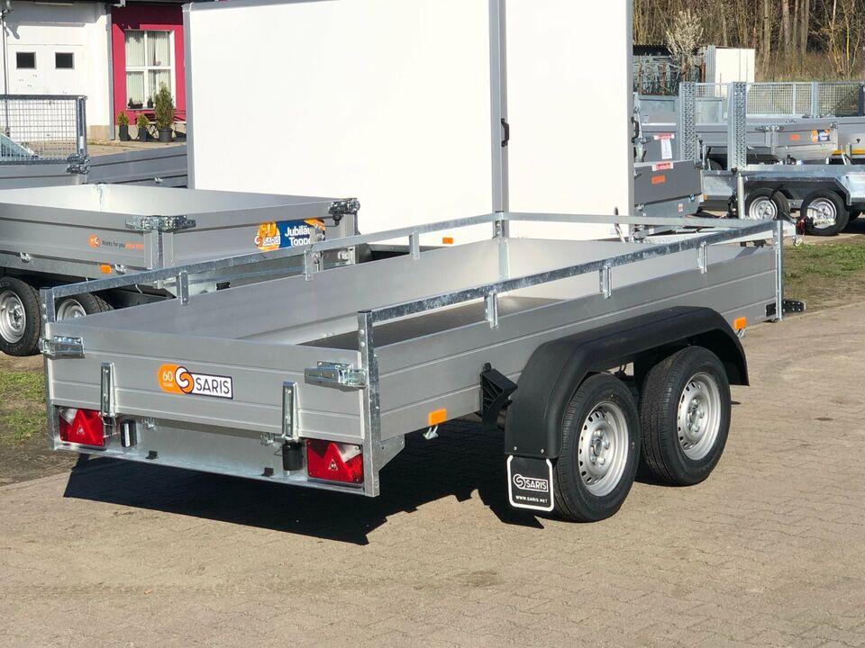 ⭐Anhänger Saris McAlu Pro FW2700 2700 kg 305x153x43 cm Rampen NEU in Schöneiche bei Berlin