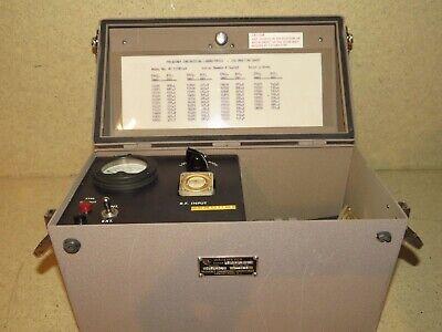 Frequency Engineering Lab Wavemeter Model W015180-1w Range 15.0-18.0 Gc A