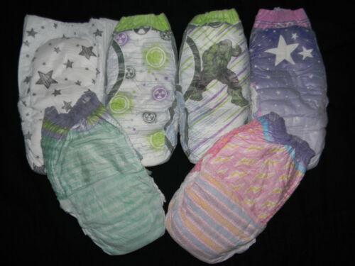 6 SAMPLE ninjamas , always my baby,  goodnight up too size 60-125+ Lbs