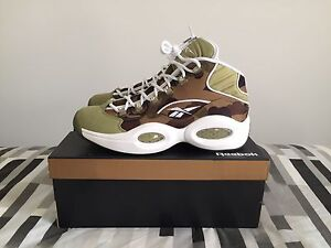 US9 Reebok x BAPE Question Mid in Camo and White - A Bathing Ape Liverpool Liverpool Area Preview