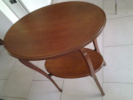 Solid wooden oval table  Normanhurst Hornsby Area Preview