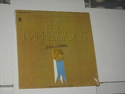 33rpm THE IMPRESSIONS we're a winner(IN SHRINK)ABC S-635 nice SEE PICS