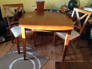 """Dining Table & 2 Chairs. Table is 40"""" x 40"""". Price is firm"""