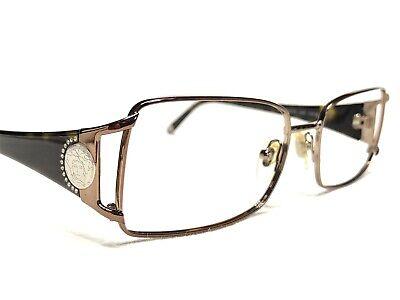 Versace Mod1142-B 1045 Womens Bronze & Tortoise Rx Designer Eyeglasses Frames 53