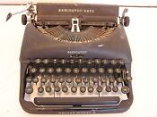 Remington Rand Model 5 Typewriter