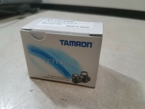 "1PC TAMRON M118FM08 New  8mm 1/1.8"" Manual aperture industrial camera lens#SS"